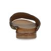 Kožené dámské nazouváky s překříženými pásky bata, černá, 564-9601 - 15