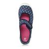 Modrá dívčí domácí obuv se srdíčky mini-b, modrá, 279-9601 - 17