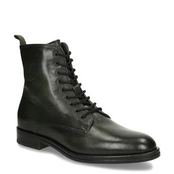Dámská kotníková obuv na šněrování v pánském stylu bata, zelená, 594-7620 - 13