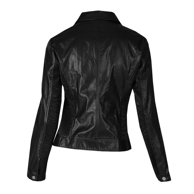 Koženková dámská bunda bata, černá, 971-6264 - 26