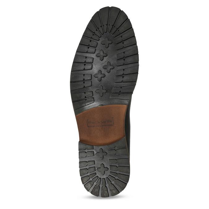 Hnědá pánská kožená Chelsea obuv bata, hnědá, 826-4713 - 18