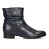 Modrá dámská kožená kotníková obuv gabor, modrá, 696-9101 - 19