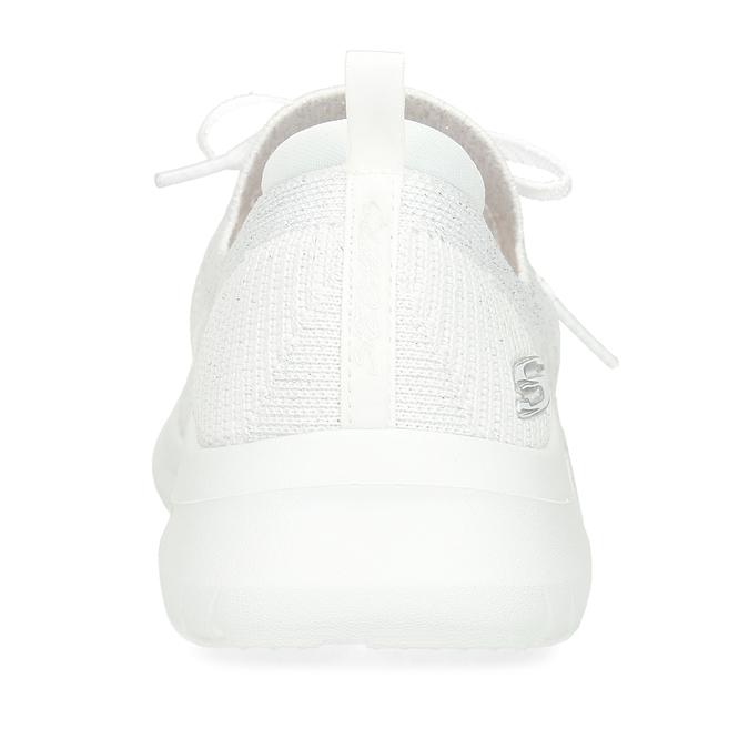 Bílé dámské tenisky s paměťovou pěnou skechers, bílá, 509-1223 - 15