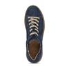 KOŽENÉ DÁMSKÉ TENISKY ŠEDÉ bata, modrá, 523-9614 - 17