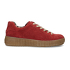 DÁMSKÉ KOŽENÉ TENISKY ČERVENÉ bata, červená, 523-5614 - 19