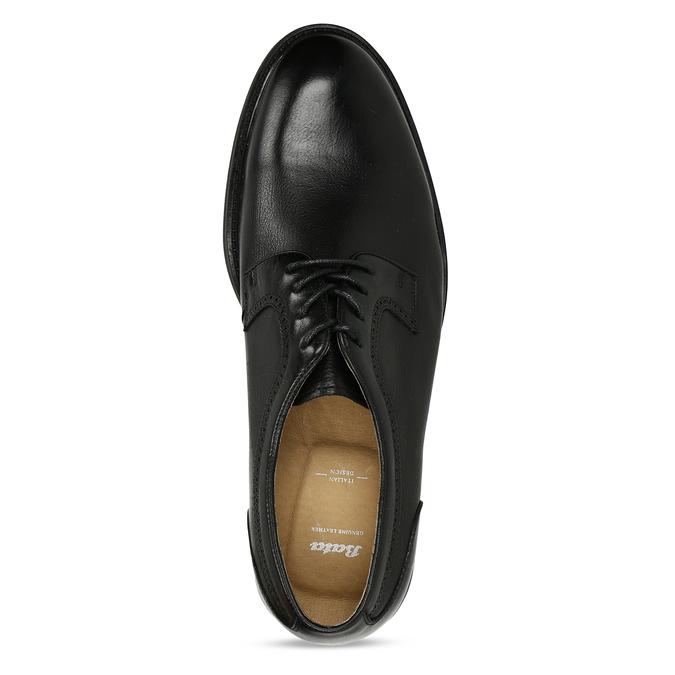 Černá pánská chelsea obuv v kůži bata, černá, 824-6716 - 17
