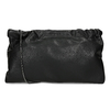 Černá dámská koženková kabelka bata, černá, 961-6272 - 16
