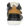 Dětská kotníková obuv se suchým zipem bubblegummers, hnědá, 111-4723 - 15