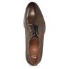 Pánské kožené ležérní polobotky bata, hnědá, 826-4612 - 17