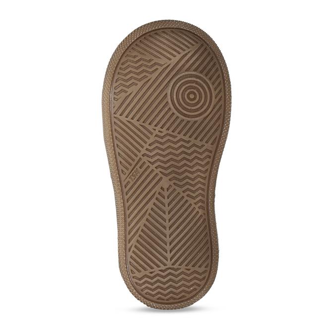 Dětská hnědá kožená zimní kotníková obuv s kožíškem froddo, hnědá, 194-4612 - 18