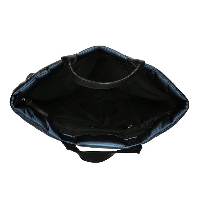 Dámská kabelka v modré metalíze gabor, modrá, 961-9801 - 15