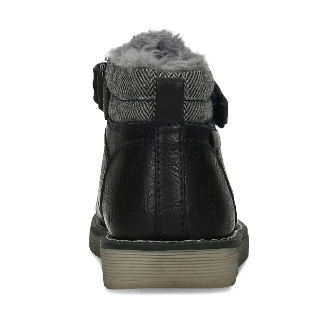Zimní dětská kotníčková obuv bubblegummers, modrá, 111-9607 - 15