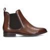 Kožená dámská Chelsea obuv hnědá bata, hnědá, 594-4617 - 19