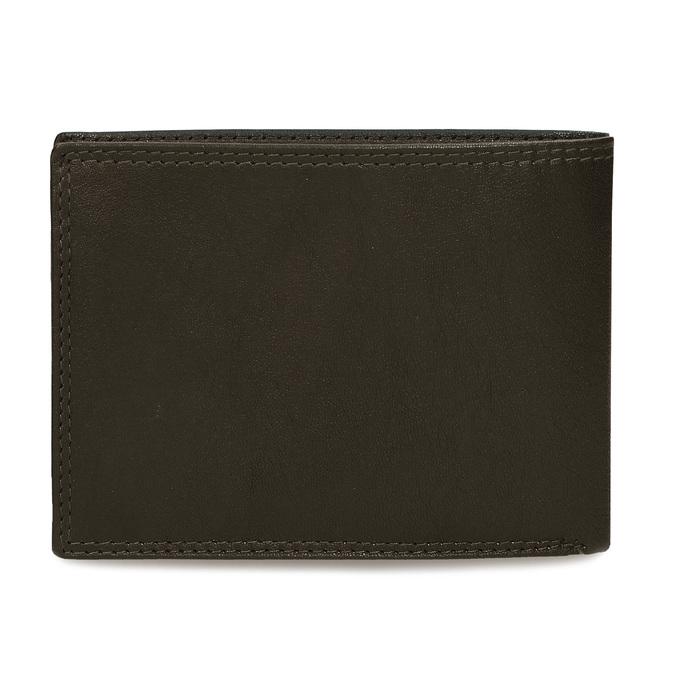 Minimalistická pánská peněženka v hnědé kůži bata, hnědá, 944-4127 - 16