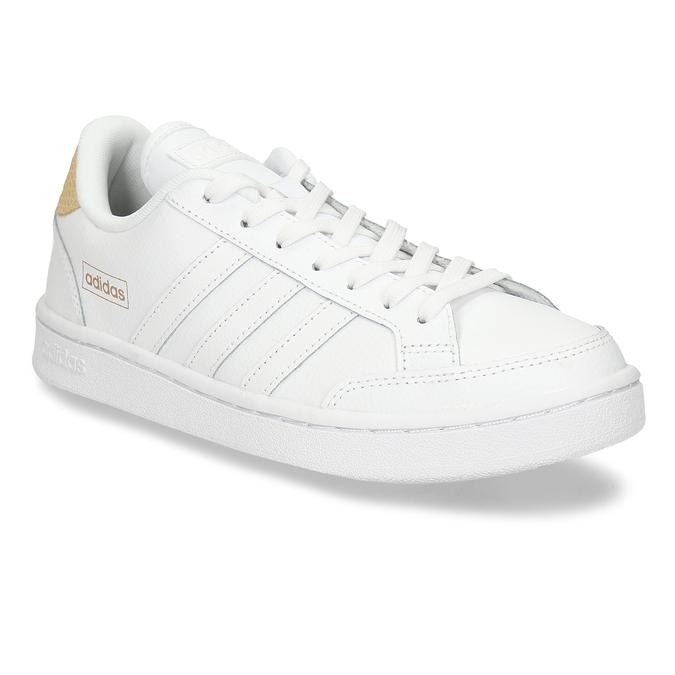 Bílé dámské tenisky s hadím detailem adidas, bílá, 501-1471 - 13