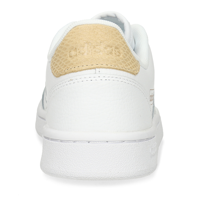 Bílé dámské tenisky s hadím detailem adidas, bílá, 501-1471 - 15
