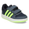 Dětské tenisky se žlutozelenými proužky adidas, modrá, 301-9331 - 13