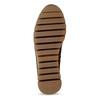 Hnědá dámská kožená kotníková obuv gabor, hnědá, 593-3103 - 18