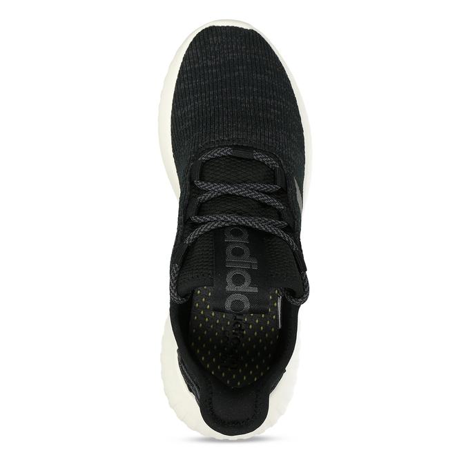 Černé dámské žíhané tenisky adidas, černá, 509-6186 - 17