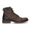 Pánská kotníková obuv v hnědé kůži bata, hnědá, 896-4725 - 19