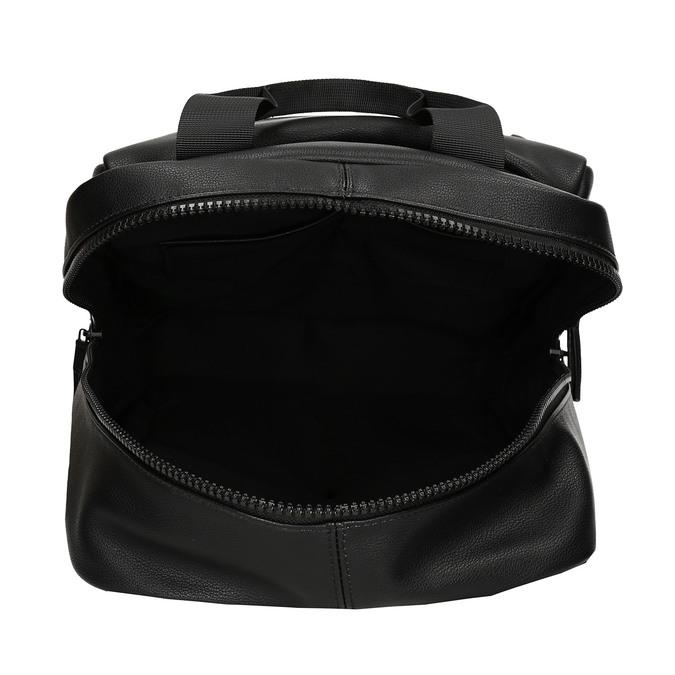Černý unisex městský batoh bata, černá, 961-6772 - 15