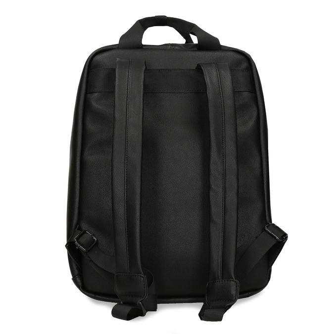 Černý unisex městský batoh bata, černá, 961-6772 - 16