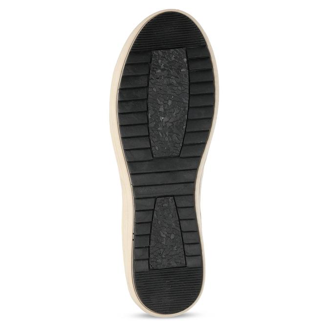 Zimní dámská obuv s huňatým kožíškem bata, žlutá, 599-8630 - 18