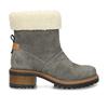 Zimní dámské kožené boty s kožíškem weinbrenner, šedá, 596-2603 - 19