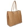 Dámská kožená kabelka s tenkými uchy bata, béžová, 964-3622 - 13