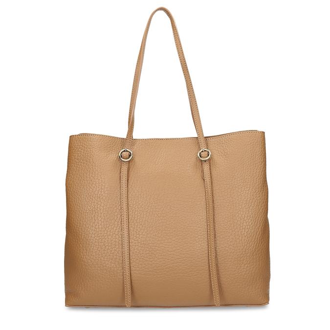 Dámská kožená kabelka s tenkými uchy bata, béžová, 964-3622 - 16