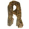 Lehká dámská šála s hadí texturou bata, vícebarevné, 909-0232 - 16