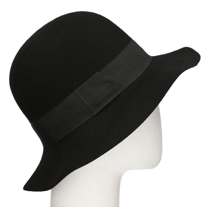 Černý dámský klobouk bata, černá, 909-6698 - 13