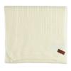 Béžová pletená šála bata, bílá, 909-1691 - 13