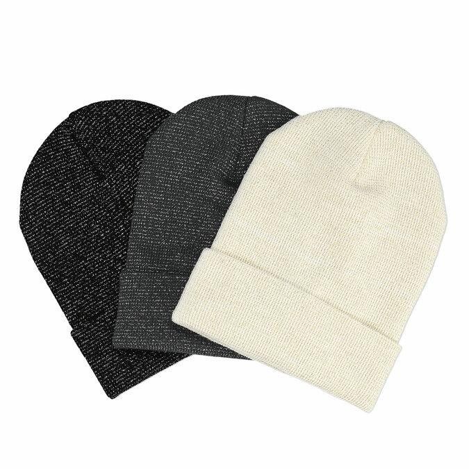 Zimní čepice vícebarevná bata, vícebarevné, 909-0409 - 13