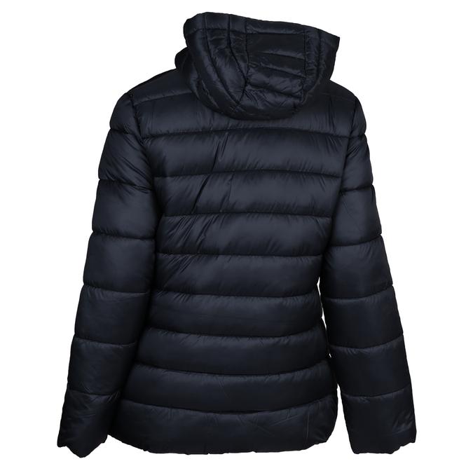 Tmavě modrá prošívaná bunda dámské bata, modrá, 979-9600 - 26