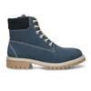 Modrá dětská kožená kotníková obuv zimní weinbrenner, modrá, 416-9614 - 19