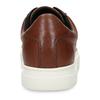 Hnědé pánské kožené tenisky s bílou podešví vagabond, hnědá, 844-3602 - 15