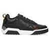 Černé kožené tenisky v městském stylu bata, černá, 846-6621 - 19