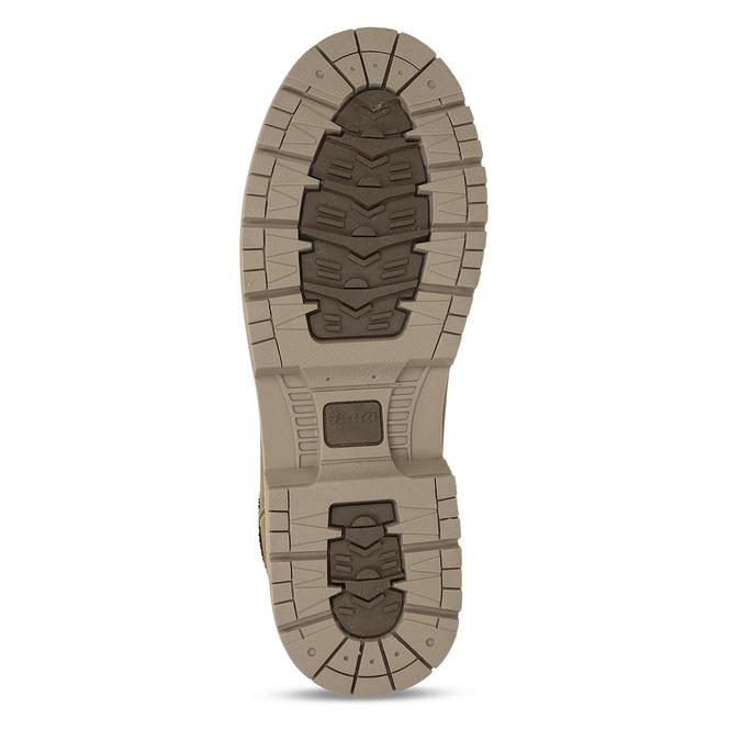 Hnědá pánská kotníková obuv ve farmářském stylu bata, hnědá, 891-8658 - 18