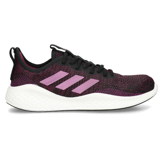 Černo-růžové dámské sportovní tenisky adidas, černá, 509-6242 - 19