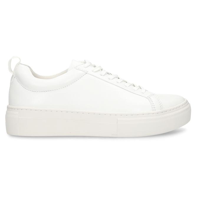 Bílé dámské kožené tenisky vagabond, bílá, 544-1609 - 19