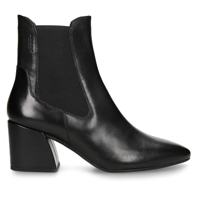 Dámská Chelsea obuv v černé kůži vagabond, černá, 794-6627 - 19