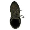 Zelená dámská kotníková obuv s Gore-tex membránou hogl, zelená, 593-7601 - 17