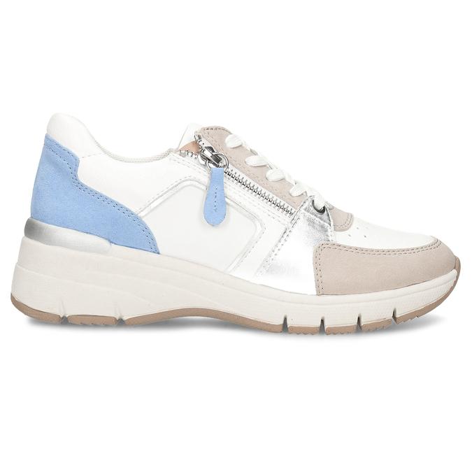Dámské Chunky tenisky se zipem bata-light, vícebarevné, 521-0600 - 19