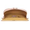 Růžová kožená dámská kabelka s hadím vzorem bata, růžová, 964-5606 - 15