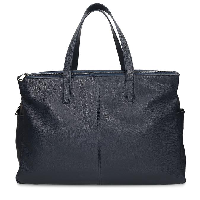 Velká dámská modrá taška bata, modrá, 961-9646 - 26