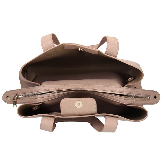 Růžová dámská kabelka bata, růžová, 961-5645 - 15