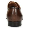 Hnědé kožené pánské polobotky bata, hnědá, 826-3674 - 15