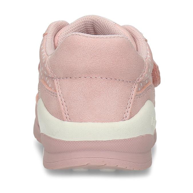 Růžové dívčí tenisky na suchý zip bubblegummers, růžová, 121-5602 - 15