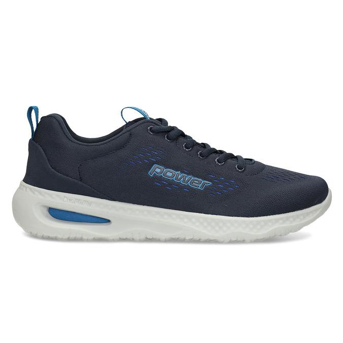 Modré pánské sportovní tenisky power, modrá, 809-9650 - 19